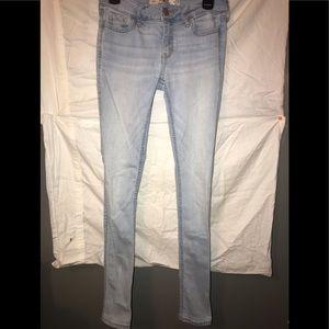 Light Wash Hollister Super skinny pants